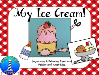 Sequencing Craft: Making an Ice Cream Dessert