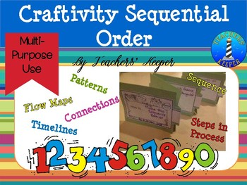 Sequencing Craftivity: Creating Timelines, Order of Events, and More!!