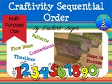 Sequencing Craftivity: Creating Timelines, Order of Events