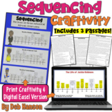 Sequencing Craftivity featuring Black History