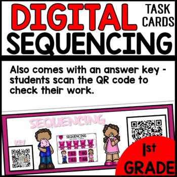 Sequencing DIGITAL TASK CARDS
