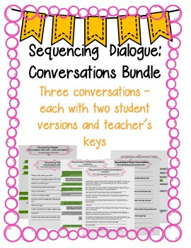 Sequencing Dialogue in Conversations Bundle