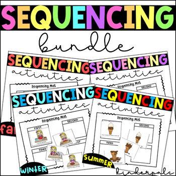 Sequencing Activities-Story Sequencing Bundle