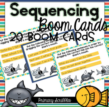 Sequencing Digital Boom Task Cards