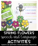 Spring Language Bundle: Sequencing, Yes/No + Wh- Questions