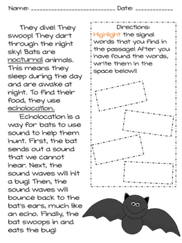 Sequencing Events - Nonfiction Text
