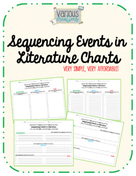 Sequencing Events in Literature Charts