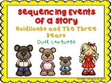Sequencing Events of a Story- Goldilocks and the Three Bears (Dual Language)