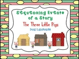 Sequencing Events of a Story- The Three Little Pigs (Dual Language)