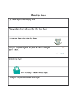 Sequencing - Explicit Instruction