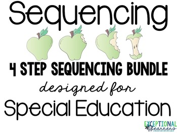 File Folder Activity Bundle: 4 Step Sequencing