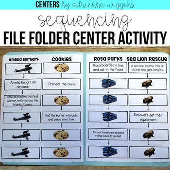 Sequencing File Folder Center