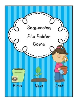 Sequencing File Folder Game