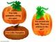"Sequencing ""Five LIttle Pumpkins"""