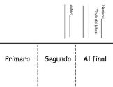 Sequencing Flipbook-Spanish