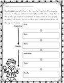 Sequencing Flowchart Organizer