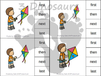 Sequencing: Flying A Kite