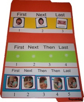 Sequencing Game and Following Directions Cards