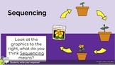 Sequencing Google Slides Pear Deck Presentation for REMOTE