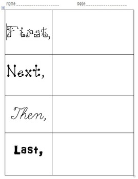 story planning graphic organizer pdf