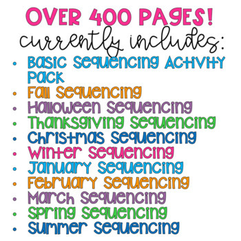Sequencing {Growing Bundle}