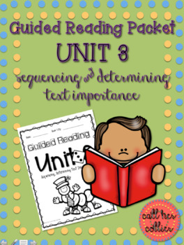 Sequencing Guided Reading Packet