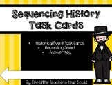 Sequencing History Task Cards