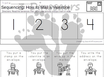 Sequencing: How To Mail A Valentine