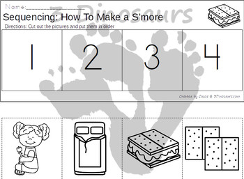 Sequencing: How To Make S'mores