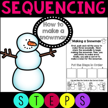 Sequencing How to Build a Snowman