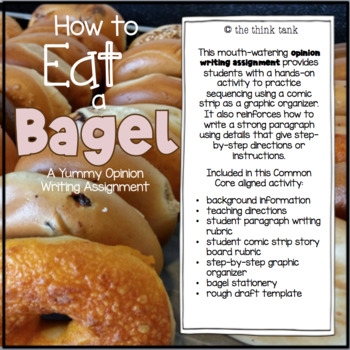 How to Eat a Bagel: Opinion Writing Experience