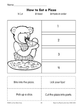Sequencing: How to Eat a Pizza