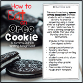 How to Eat an Oreo Cookie: Opinion Writing Experience