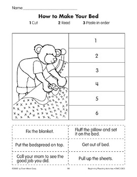 Sequencing: How to Make Your Bed