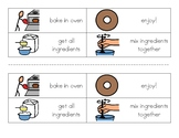 Sequencing How to Make a Donut