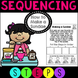 Sequencing How to Make a Sundae