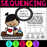 Sequencing How to Make a Valentine