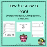 Sequencing: How to grow a plant - emergent reader and more!