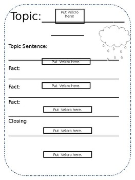 Sequencing Informational Writing and Identifying Topics