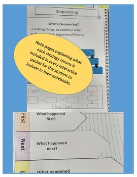Sequencing Interactive Notebook for Any Story