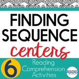Sequencing Learning Centers:  6 Fun Learning Stations on F