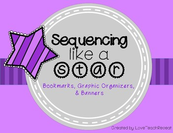 Sequencing Like a Star: {Use with any text} Banners, Organ
