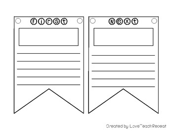 Sequencing Like a Star: {Use with any text} Banners, Organizers, and More