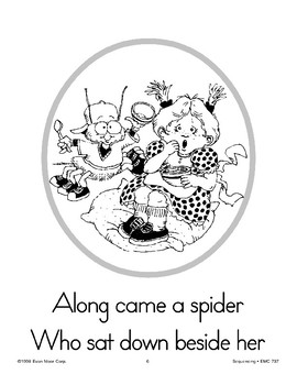 Sequencing: Little Miss Muffet
