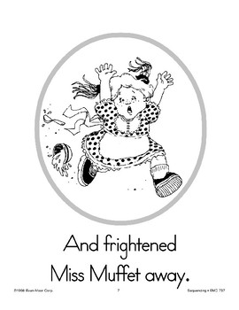 Sequencing: Little Miss Muffet