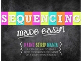 Sequencing:  Made Easy (A Colorful Comprehension Activity Packet)