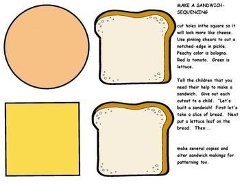 Sequencing Make a Sandwich