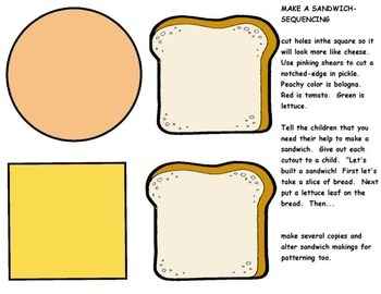 Sequencing Make a Sandwich