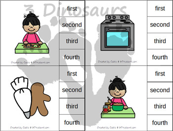 Sequencing: Making A Gingerbread Man