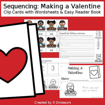 Sequencing: Making A Valentine
